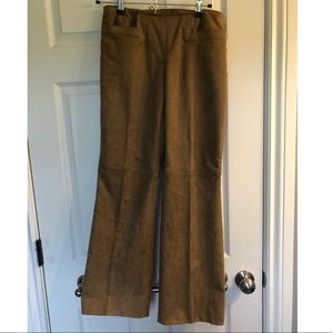 Liz Claiborne Michaela Suede like Pants
